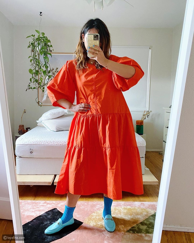 ألوان منعشة مع أحذية لوفرز