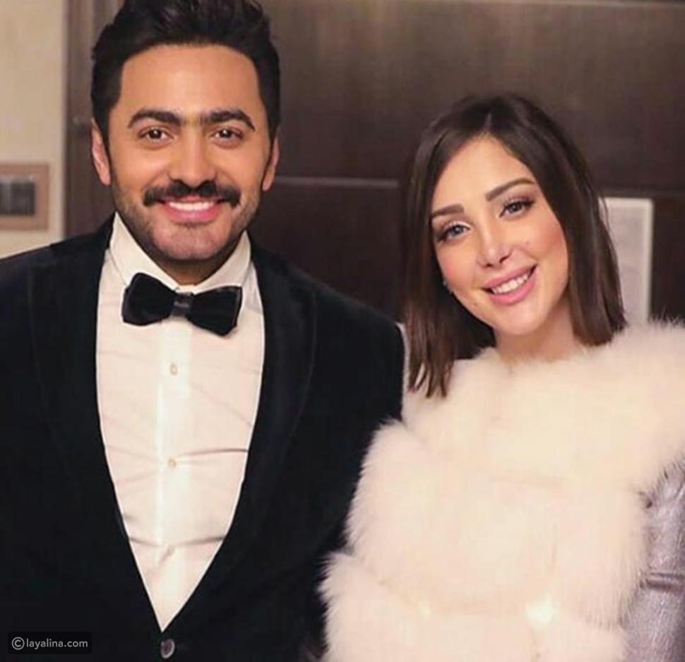 مي العيدان تسخر من تامر حسني وزوجته: شنو الفيلم الهابط
