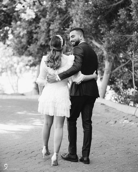 محمد الشرنوبي وزوجته راندا رياض
