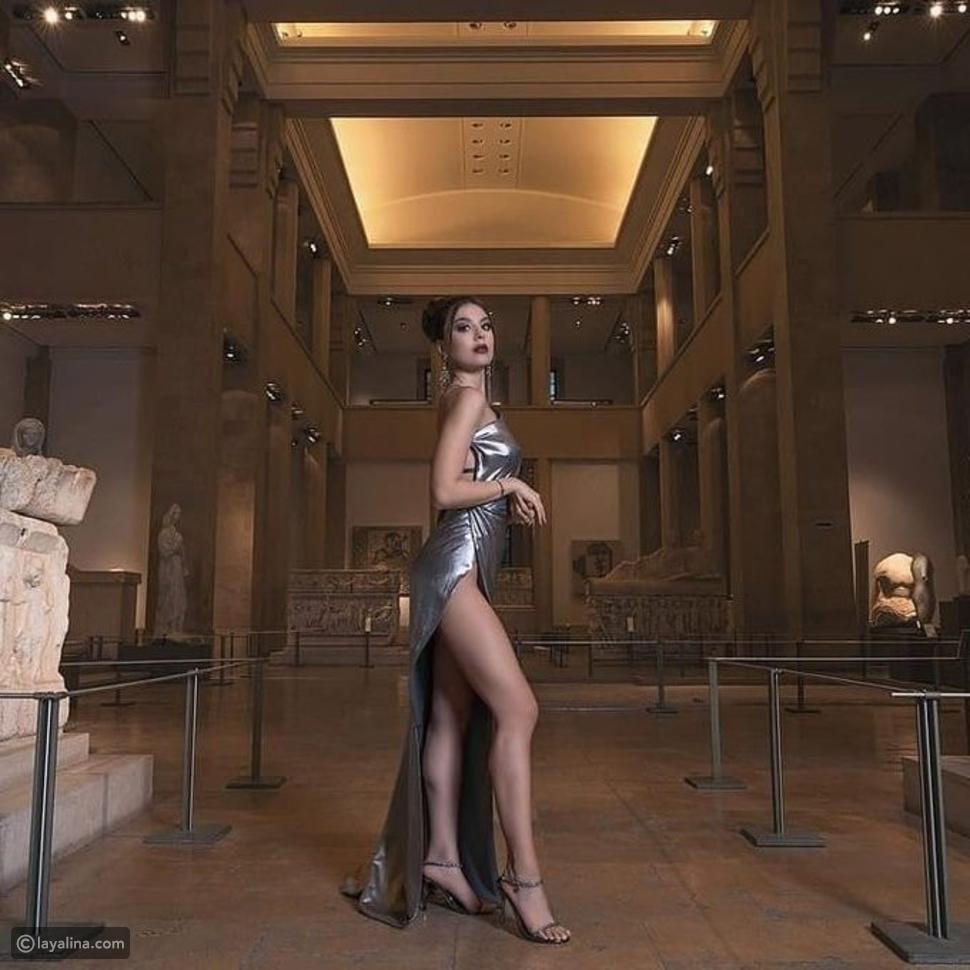 صور: بإطلالة جريئة ملكة جمال لبنان تروج للسياحة والجمهور يهاجمها بشدة
