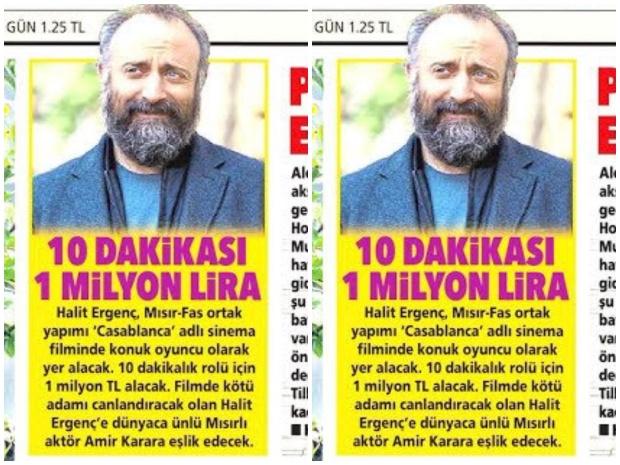 صحيفة تركية تؤكد أن دور السلطان سليمان في كازابلانكا 10 دقائق فقط