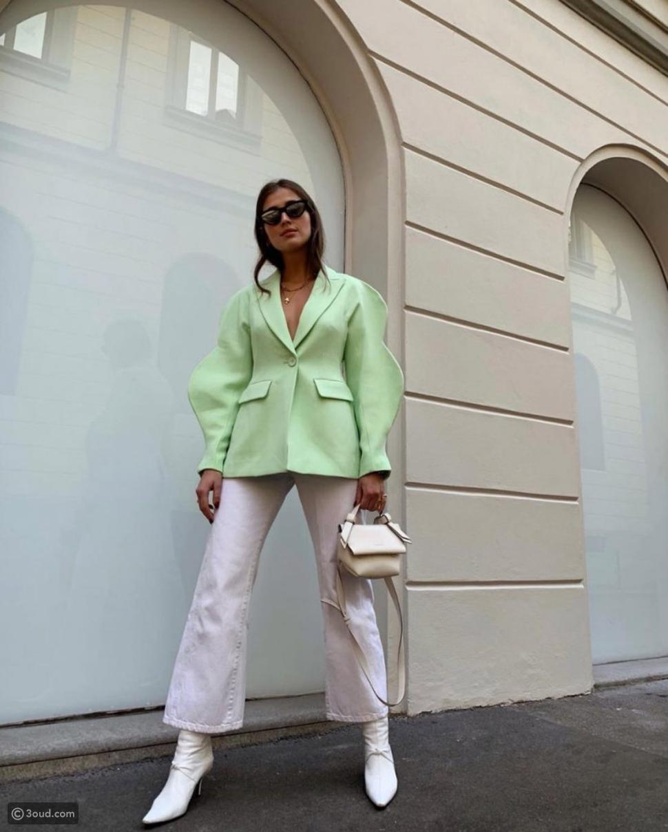 اللون الأخضر الفستقPISTACHIO