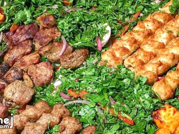 طريقة تحضير مشاوي اللحم والكباب على الطريقة السورية