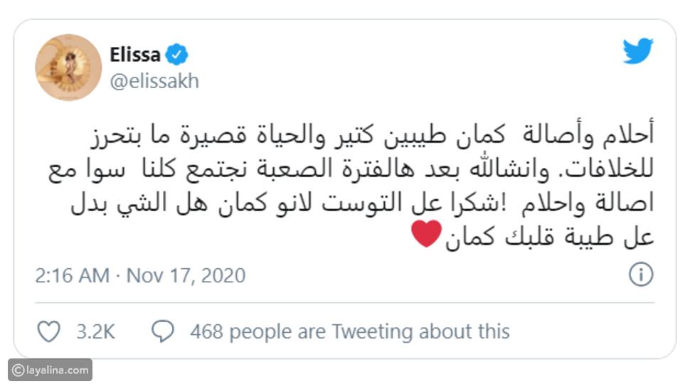 بعد صدام لأكثر من عام: تركي آل الشيخ يوجه رسالة غير متوقعة لـ إليسا