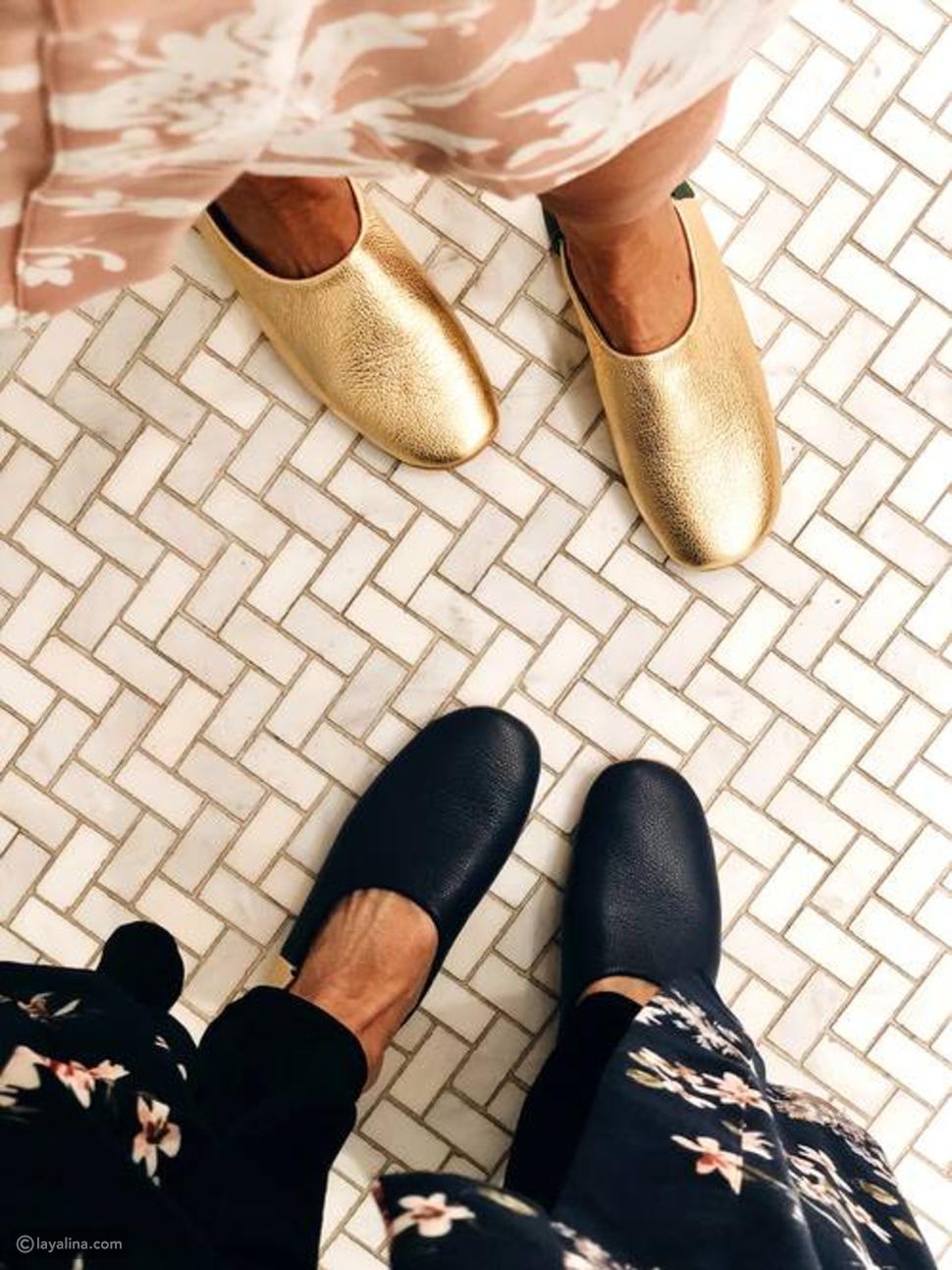 أحذية منزلية مريحة وأنيقة
