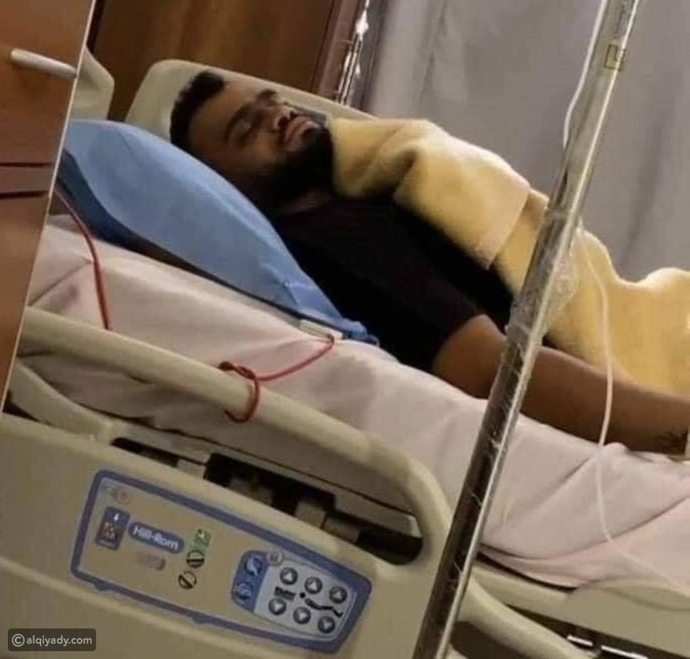 الصورة الأخيرة لمصطفى حفناوي قبل وفاته بساعات