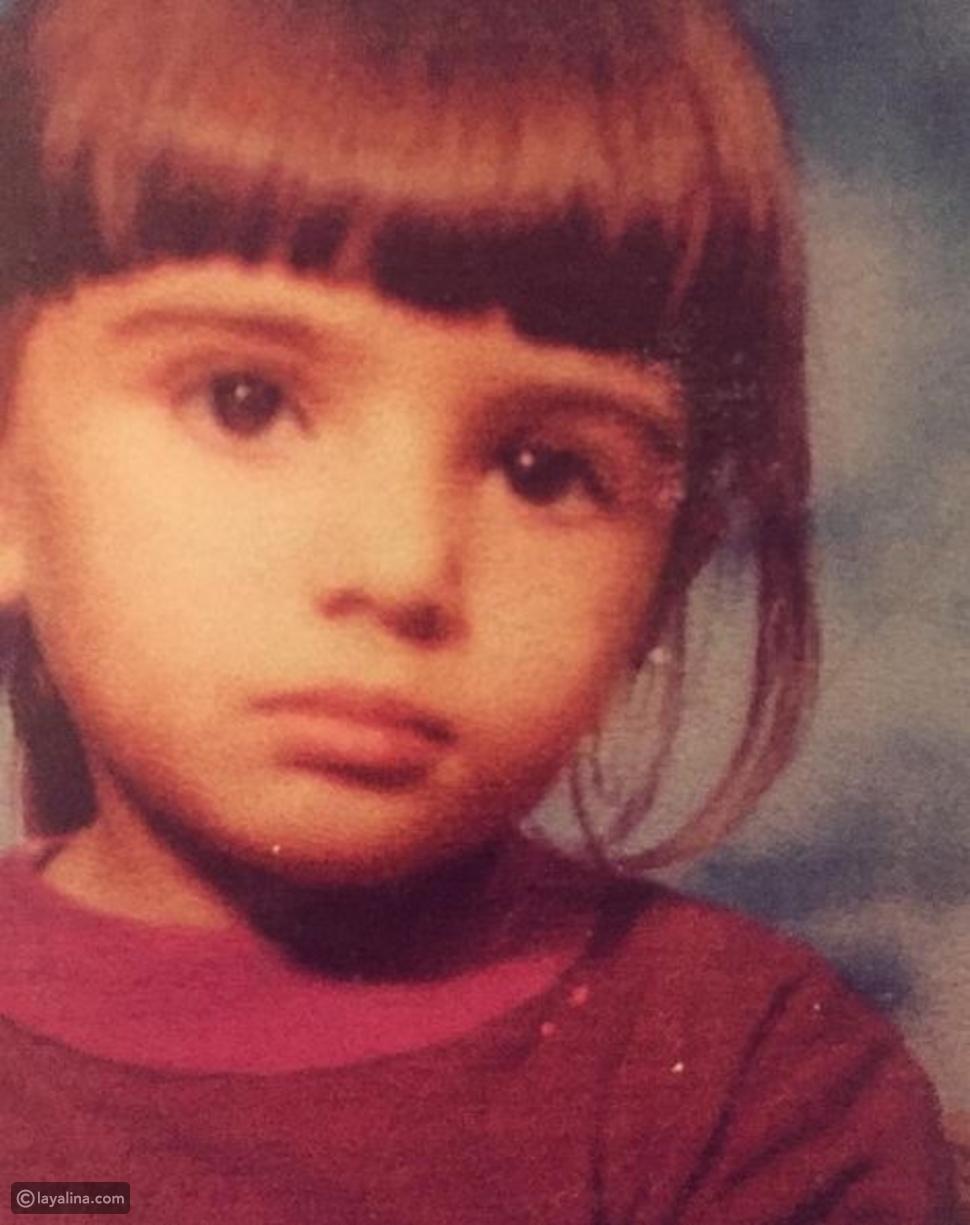 صورة لينا قيشاوي أيام الطفولة فهل تغيرت ملامحها؟