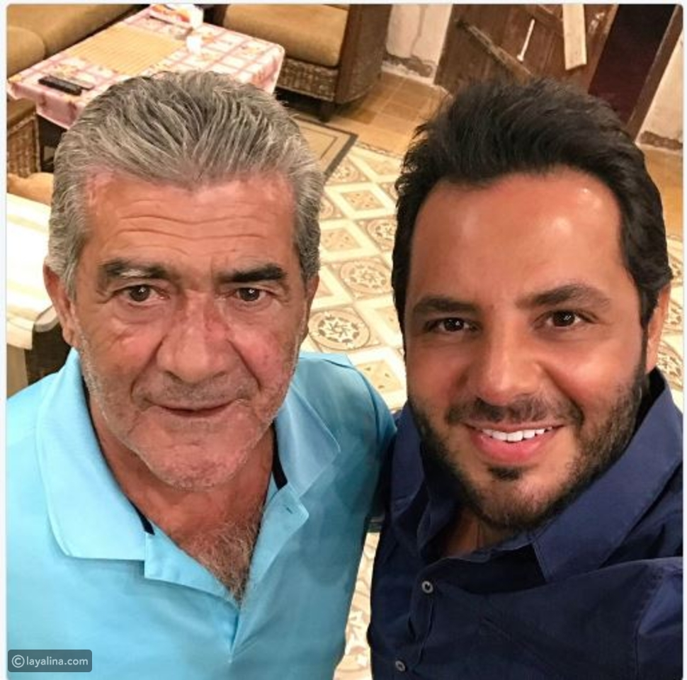 نيشان مع والد وائل كفوري