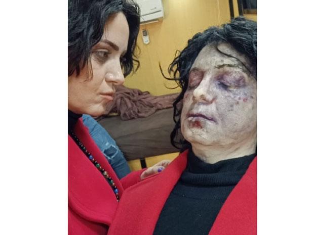 ريهام عبد الغفور تحمس جمهورها للحلقة الأخيرة من زي الشمس بصورة مخيفة