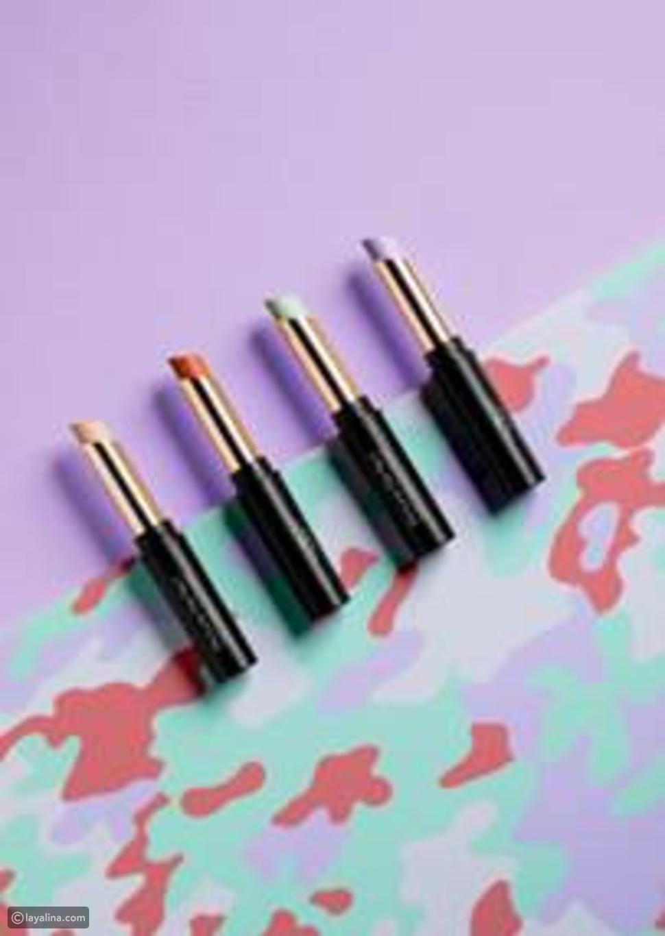 أساس خالٍ من العيوب من Wojooh مع 3 أقلام لتصحيح اللون