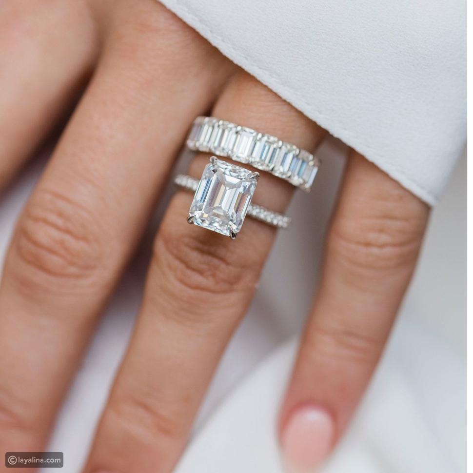 """ماس بتصميم يشبه الرغيف الفرنسي """"Baguette Diamonds"""""""