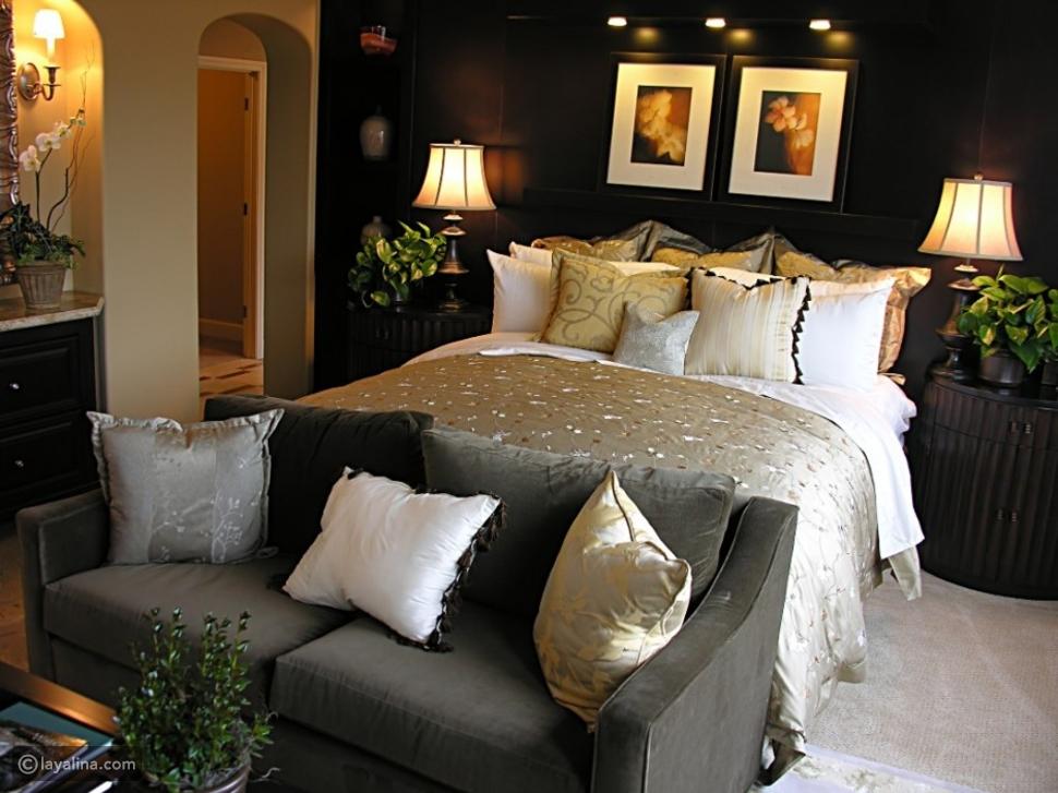 ديكورات غرف نوم 2016 للعرسان
