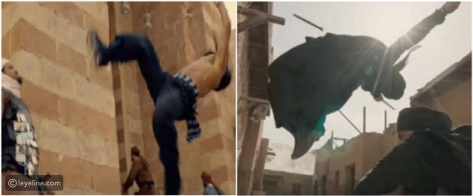 مقارنة بين يوسف الشريف ومحمد رمضان في مشهد أكشن