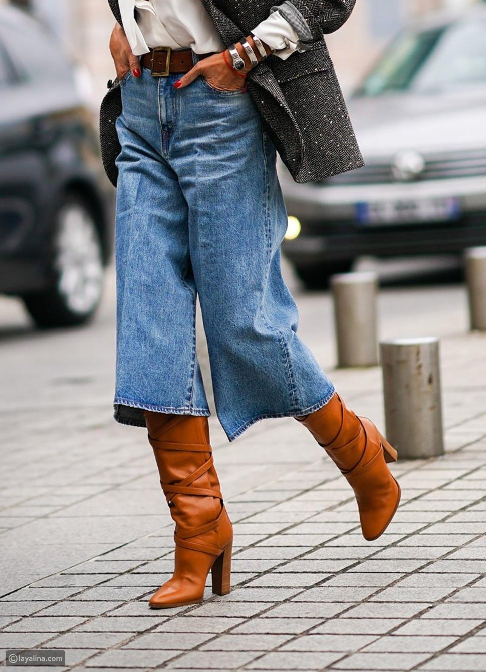 جينز قصيرCulottes
