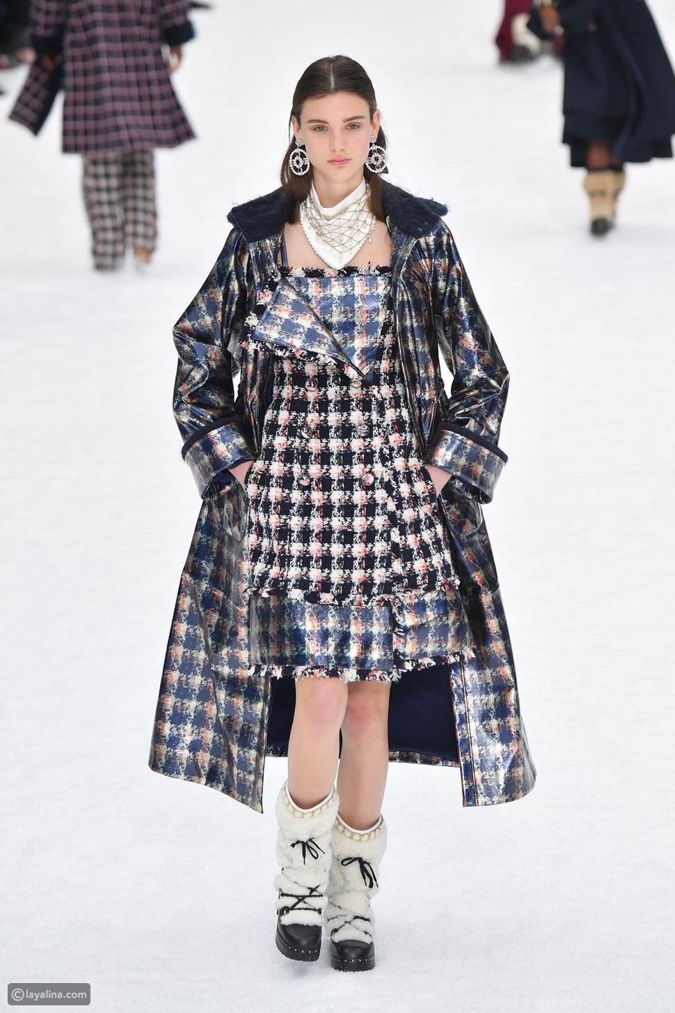 مجموعة Chanel لخريف وشتاء 2019