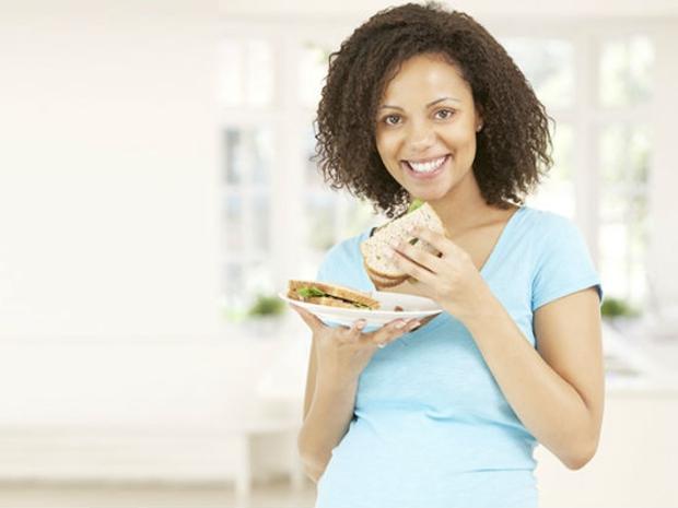 القمح للحامل