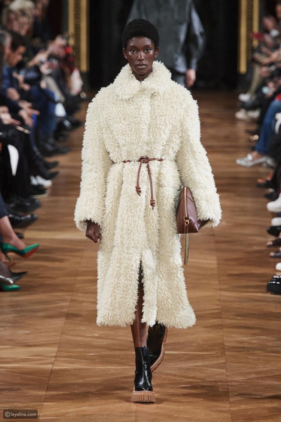معاطف فروFuzzy all over coats
