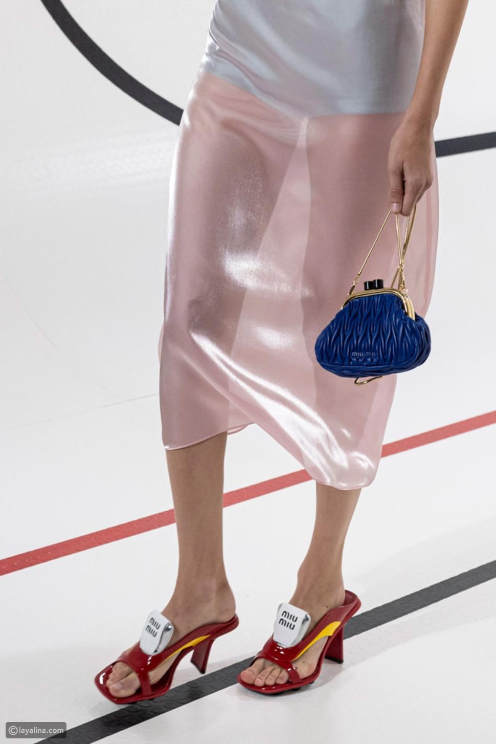 حقيبة كلاسيكية من مجموعة Miu Miu