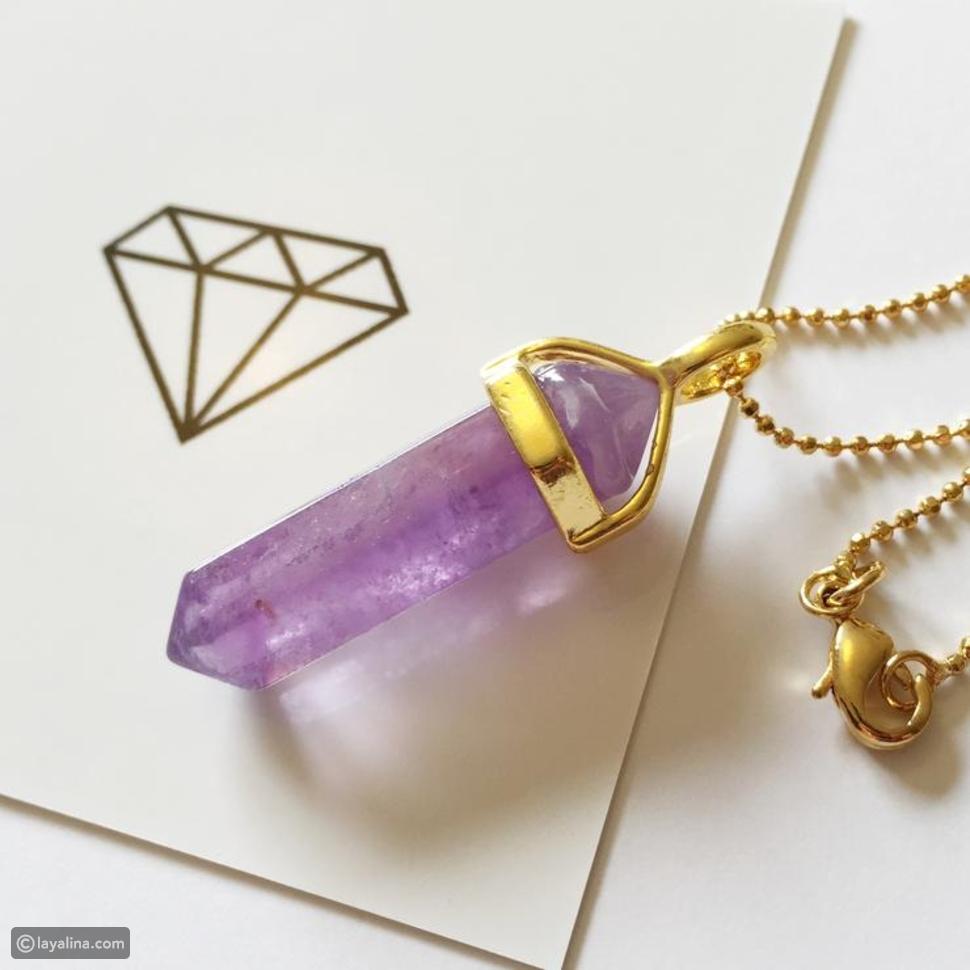 مجوهرات الجمشت
