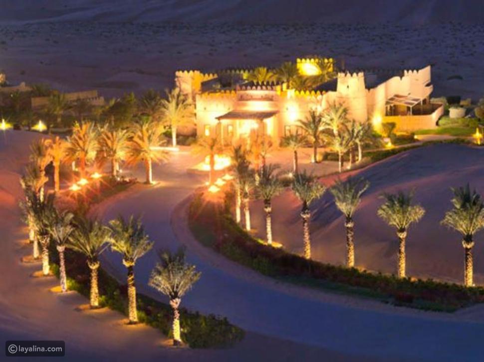 قصر السراب منتجع الصحراء أنانتارا