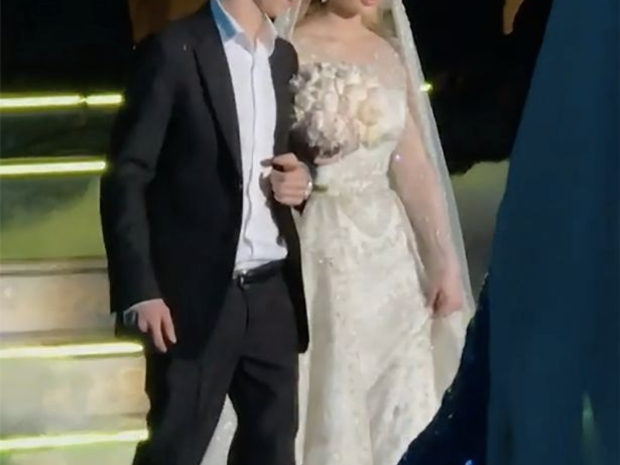 زفاف فخم لعروس شيشانية يثير ضجة