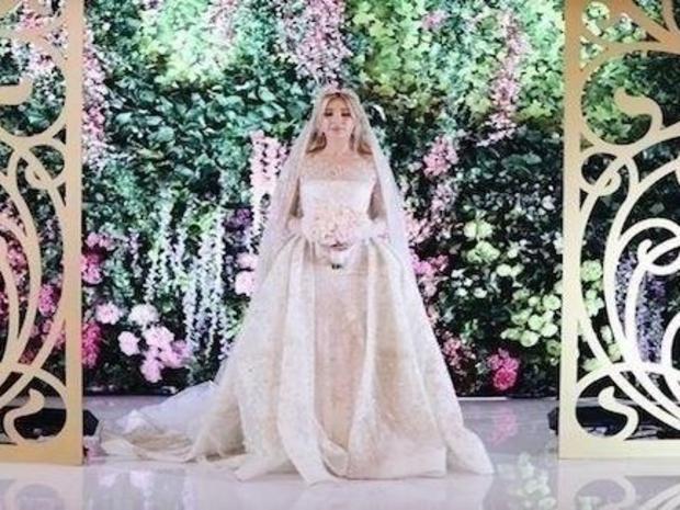 زفاف عروس شيشانية في حفل فخم تكلف الملايين