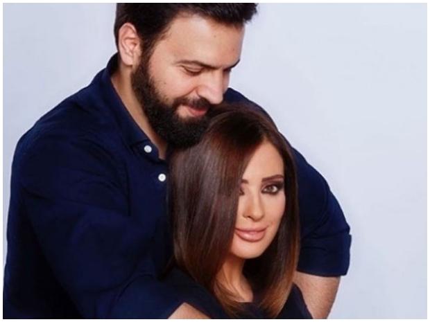 زوج ديما بياعة هكذا يعشقها صورة مجلة الجرس