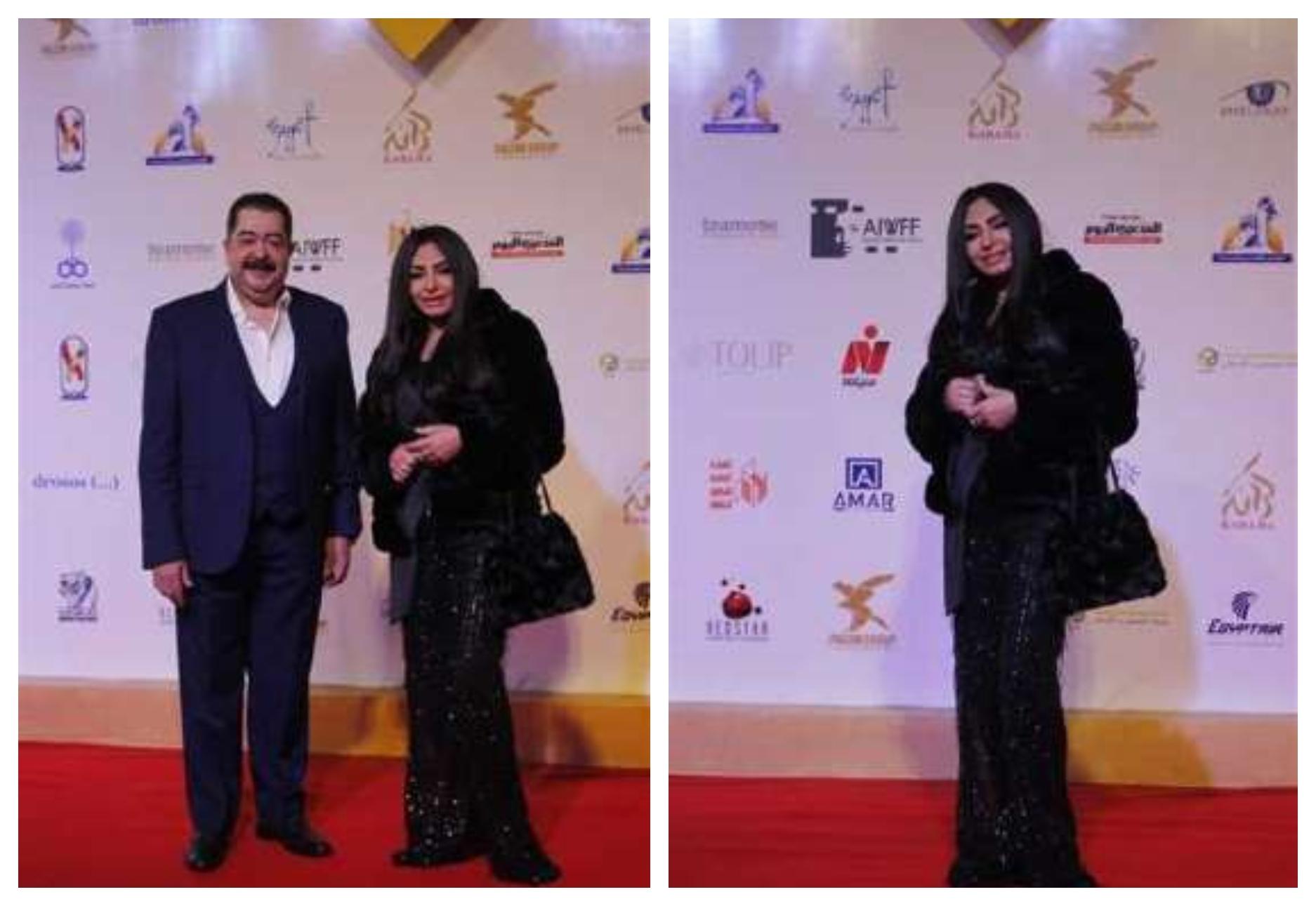 إطلالة سلوى خطاب في ختام مهرجان أسوان لأفلام المرأة