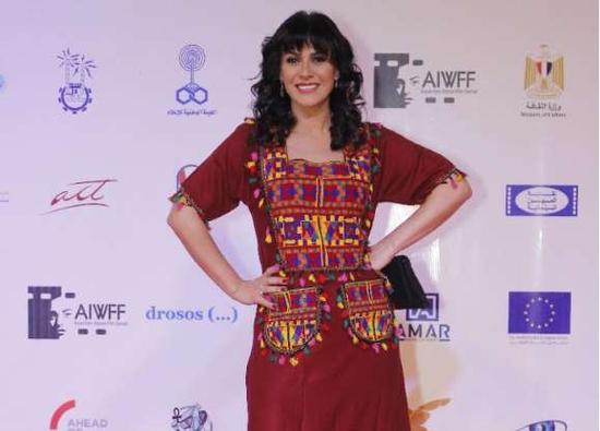 بسمة في ختام مهرجان أسوان لأفلام المرأة