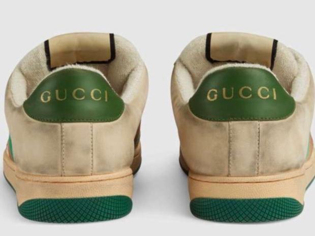 الأحذية المتسخة من غوتشي هي موضة ربيع 2019 بسعر 3263 ريال سعودي