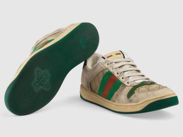 الأحذية المتسخة هي موضة ربيع 2019 وغوتشي تفتح بإصدارها