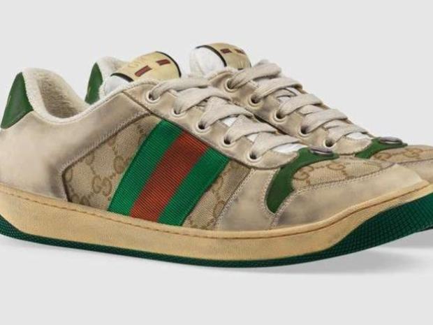 الأحذية المتسخة من غوتشي هي موضة ربيع 2019 بسعر يصل إلى 870 دولار