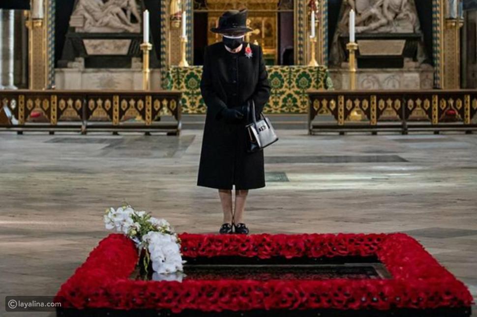 للمرة الأولى الملكة إليزابيث بالكمامة منذ انتشار فيروس كورونا