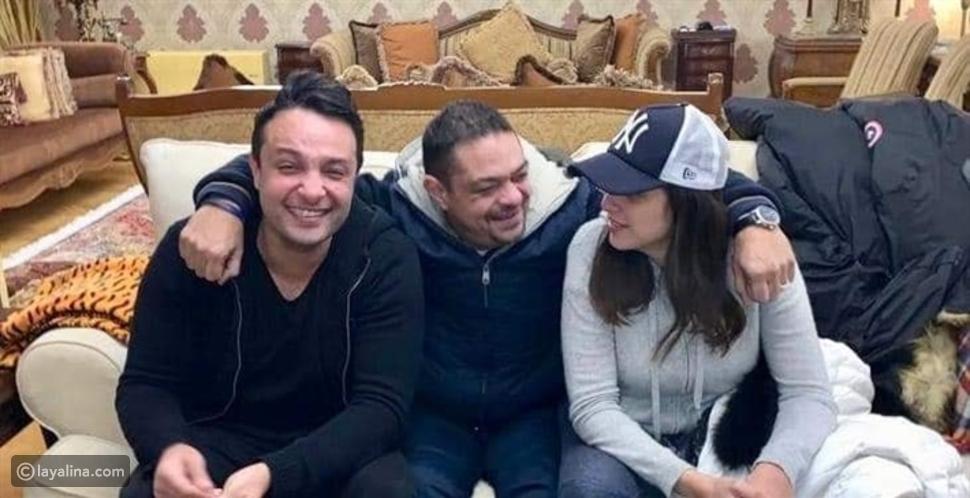 بعد رسالته لها: هل تم الصلح بين ياسمين عبد العزيز وشقيقها؟
