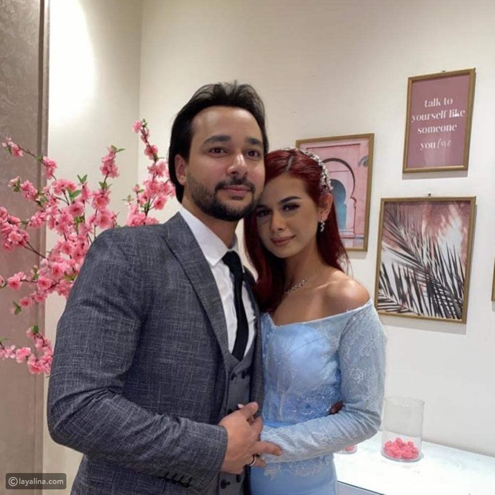 زوج منة عرفة يثير الجدل بصورة زفافه مع زوجته الثانية