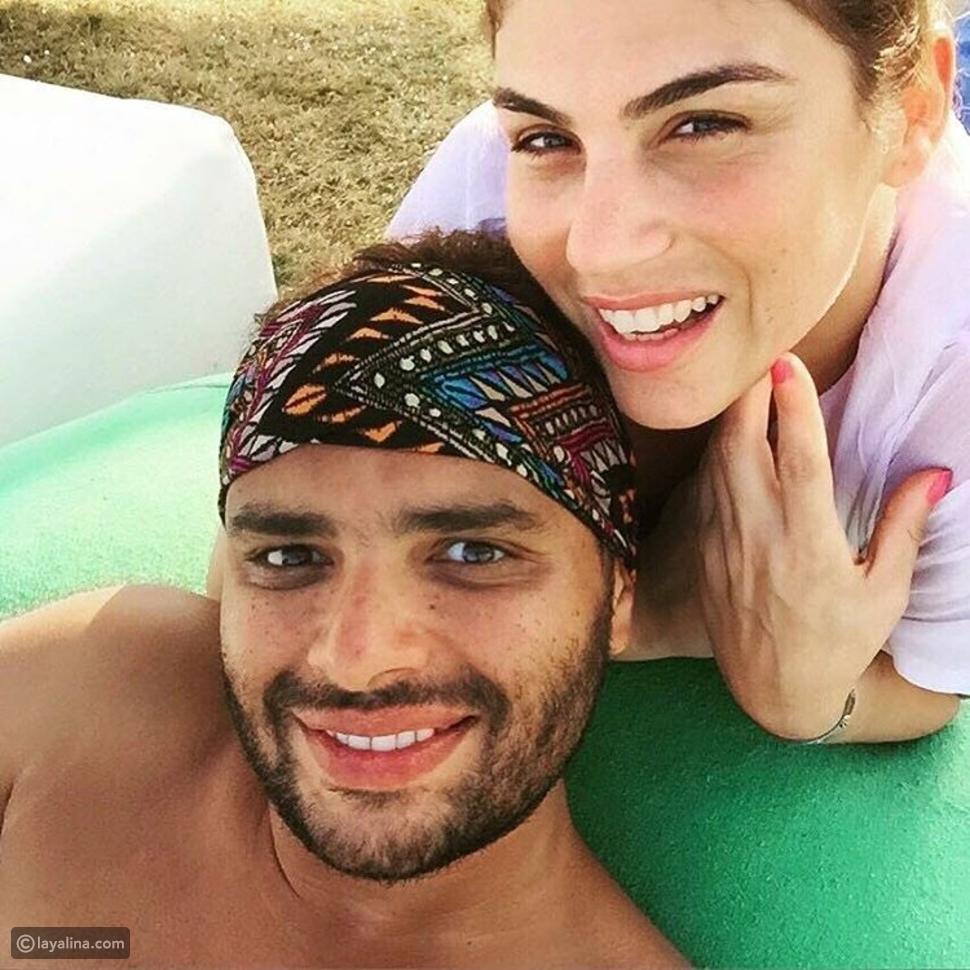 صورة رامي صبري يعايد زوجته بكلمات رومانسية بمناسبة عيد ميلادها