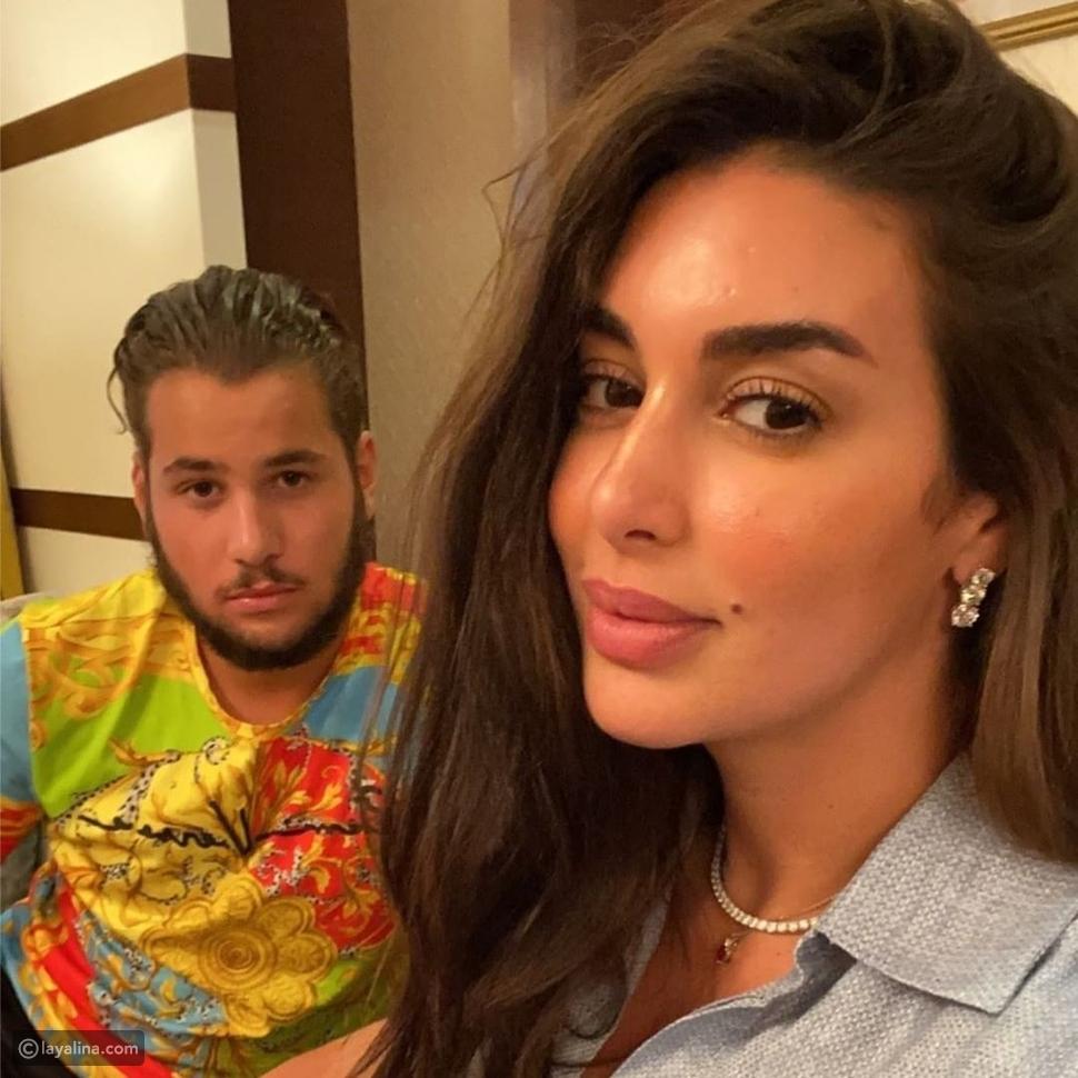 ياسمين صبري وشقيقها في أحدث ظهور