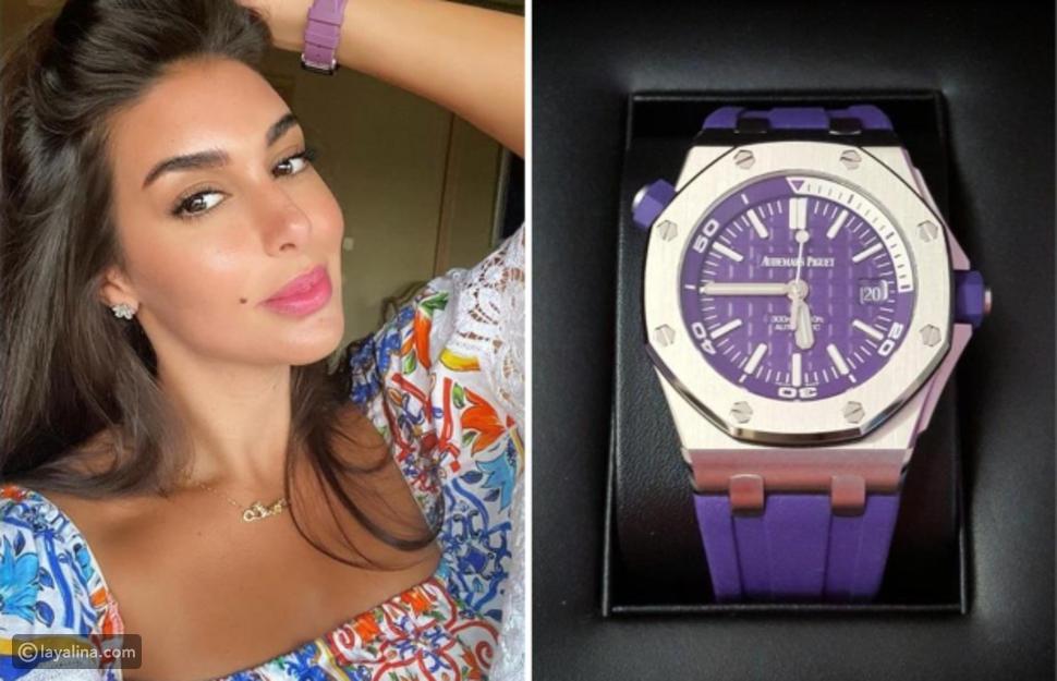 سعر ساعة ياسمين صبري 29300 دولار