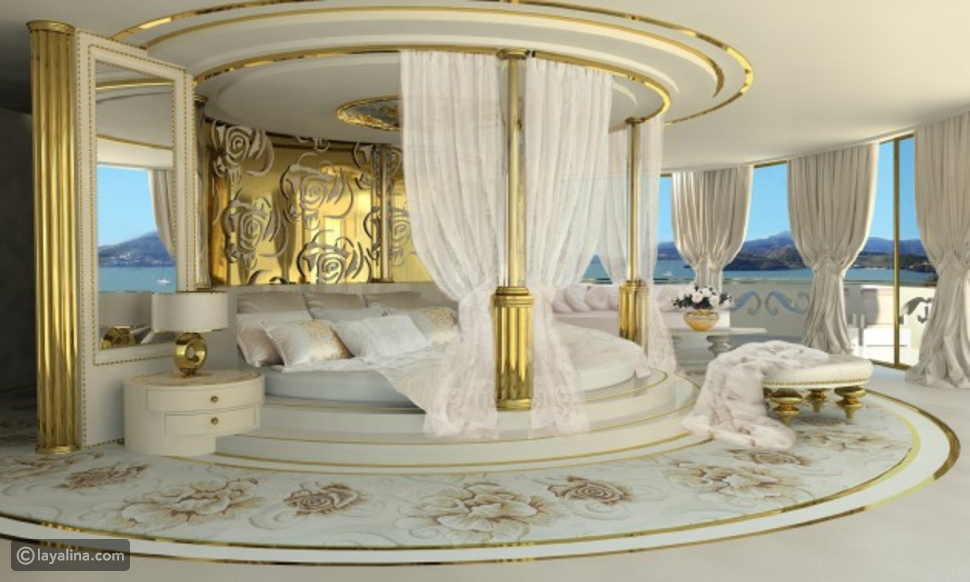 لمسات أنثوية لغرفة نوم العروس