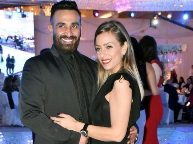 سمية الخشاب أبدت عدم انزعاجها من لقاء زوجها مع ريم البارودي