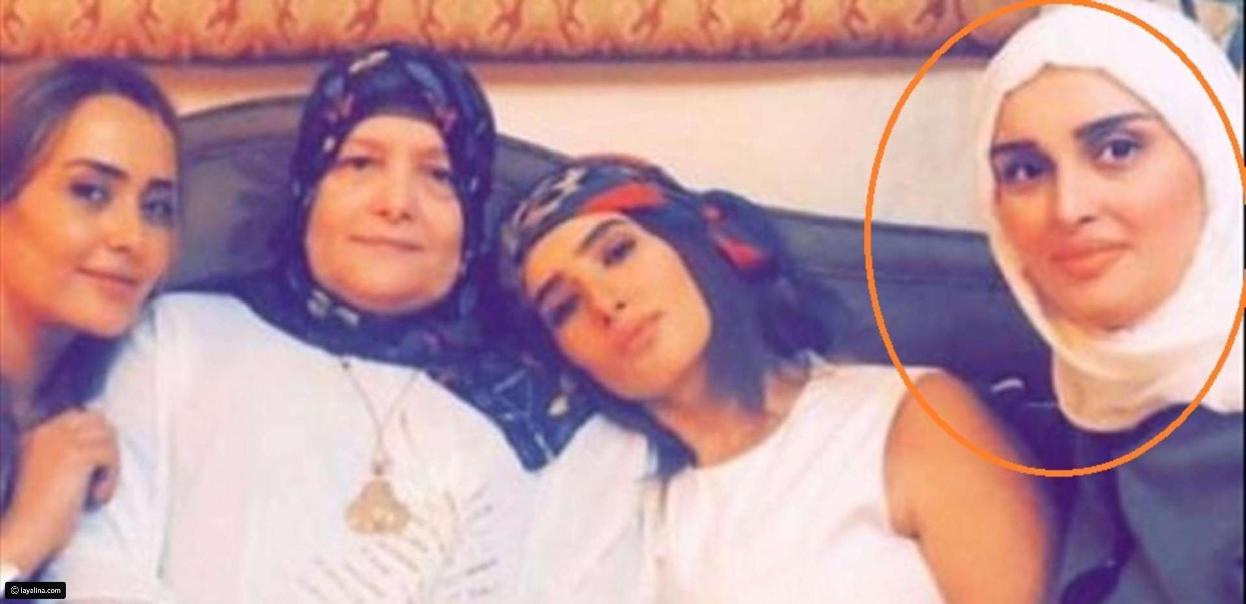 نسرين شقيقة زينة التي دخلت في مشادة مع أحمد عز