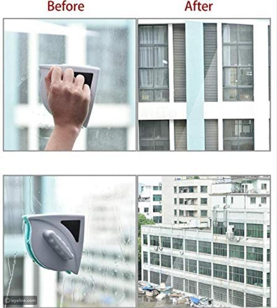 فرشاة مغناطيسية لتنظيف زجاج النافذة