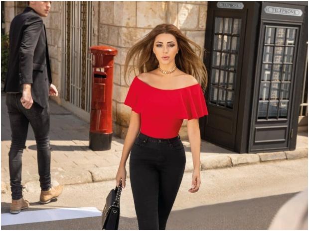 ميريام فارس ظهرت مؤخراً في فيديو دعائي لإحدى ماركات الأزياء