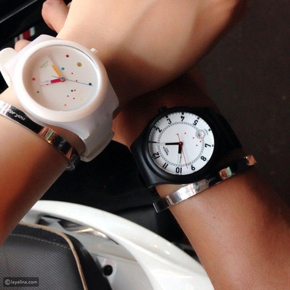 ساعة Swatch الذكية للمعصم