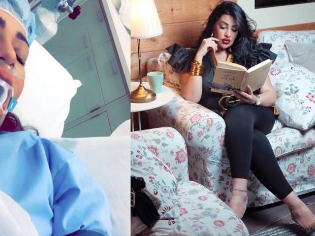 الإعلامية السعودية روزانا اليامي ضحية حادث سير.. وصورتها من المستشفى