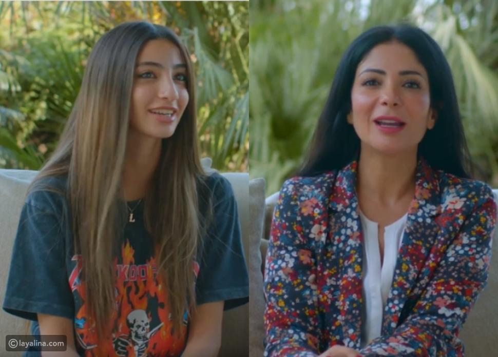 أول ظهور لابنة منى زكي وأحمد حلمي في مبادرة ضد التنمر