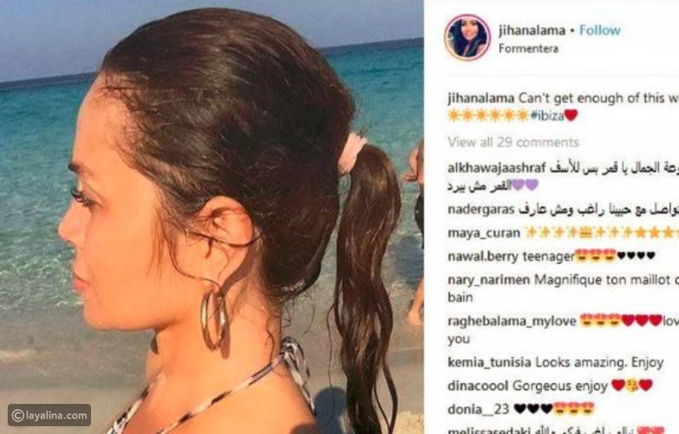 زوجة نجم لبناني شهير نسخة طبق الأصل عن أنجيلينا جولي بهذه الصور