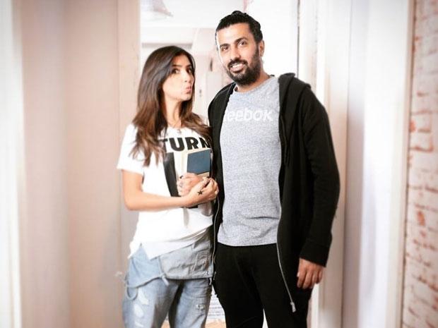 صورة للزوجين محمد سامي ومي عمر