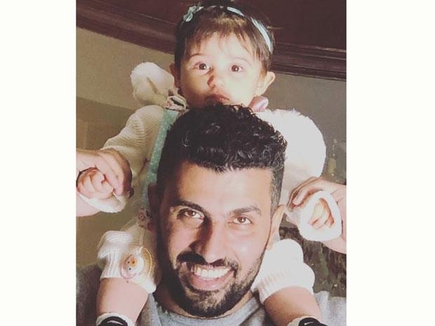 أول صورة لابنة مي عمر ومحمد سامي الثانية
