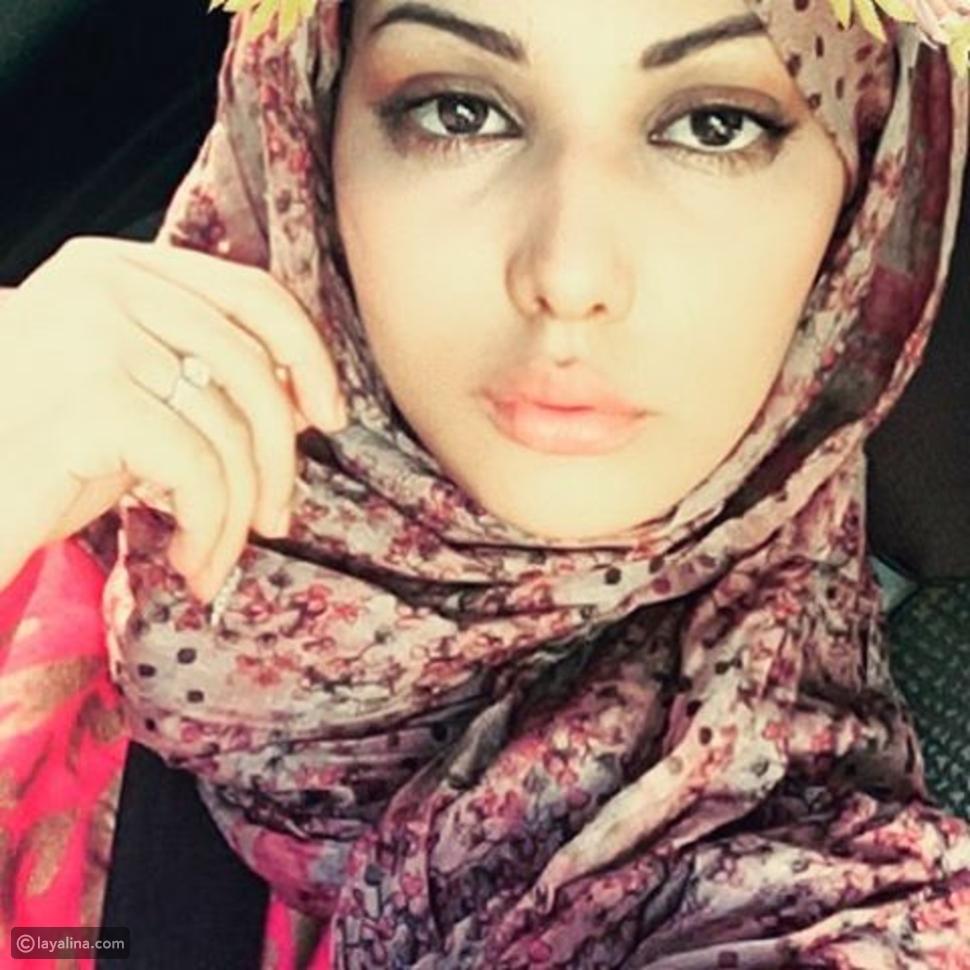 صورة ابتسام تسكت بدون مكياج وبالحجاب تصدم جمهورها وتكشف لون عينيها الحقيقي!